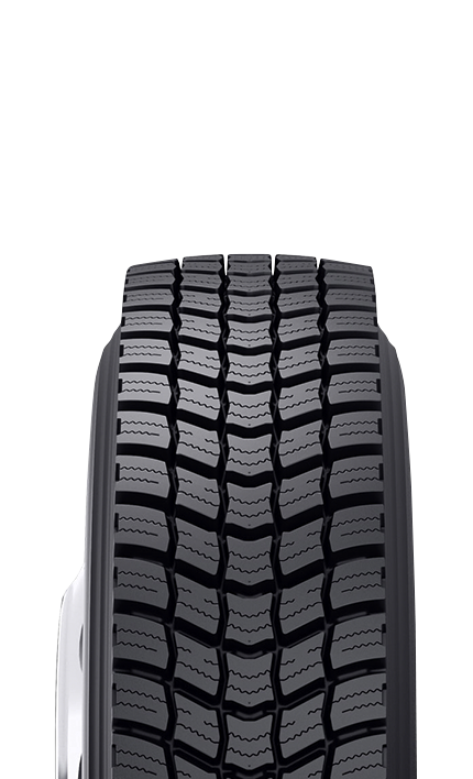 BDR-W - Retread Commercial Truck Tire for Winter Traction
